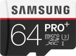 Ebay: Samsung Pro Plus 64 GB microSDXC Speicherkarte für nur 34,90 Euro statt 43,89 Euro bei Idealo