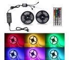 Amazon – 2×5m RGB 300 SMDs LED Streifen durch Gutscheincode für 23,99€ statt 29,99€