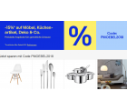 Ebay – 15% Rabatt auf ausgewählte Artikel der Kategorie Möbel und Wohnen durch Gutscheincode (kein MBW)