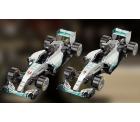 Kostenlose Mercedes Formel 1-Team Papier-Bastelbögen zum ausdrucken und selberbasteln