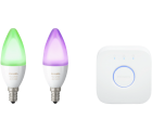 Philips Hue E14 White and Color Ambiance Starter-Set für 89 € (143,98 € Idealo) @Media-Markt