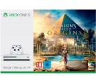 Amazon u. Saturn – Xbox One S 500GB Konsole – Assassin's Creed Origins Bundle für 199€ (245€ PVG)