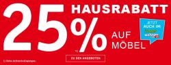 XXXLShop – 25% Rabatt auf euern Möbeleinkauf