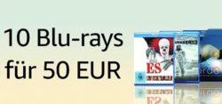 @amazon: 10 Filme für 50 Euro – nur vom 19. bis 26 März 2018,