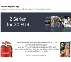 Amazon Kinoabend Aktion:  2 Serien 20€  dazu Softdrinks & Chips 30% Rabatt