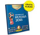 FIFA World Cup 2018 Russia Stickeralbum mit 6 Stickern von Panini komplett kostenlos bestellen