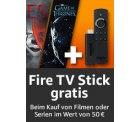 Filme oder Serien im Wert von 50 € kaufen und Fire TV Stick im Wert von 39,99 € gratis erhalten @Amazon