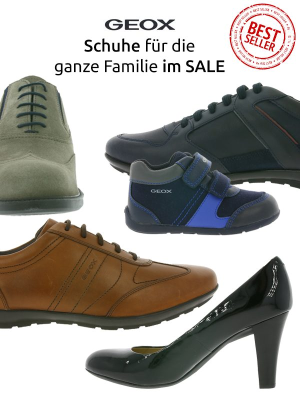 big sale 2aad8 54a05 Geox Schuhe Sale ab 39,99 Euro – z.B.GEOX U GARLAN A Herren ...