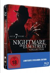 Nightmare On Elm Street Collection (SteelBook – Uncut) Blu-ray für 25 € (42,98 € Idealo) @Media-Markt