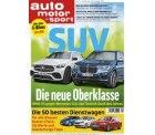 6 Ausgaben auto motor und sport gratis zzgl. 3,95€ Versand