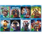 Saturn: Nimm 3 , Zahl 2 auf Marvel und DC Filme und Serien auf Blu-ray, 4K Ultra HD und DVD