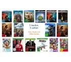 5 Produkte (Filme, Musik und Games) kaufen und nur 3 bezahlen @Amazon
