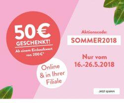 Online & Filialen: 50 Euro Rabatt mit einem MBW von 200 Euro auf fast alles @Galeria-Kaufhof