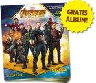 Panini:  Gratis Album – Avengers Infinity War Sticker und Trading Cards Kollektion bestellen