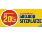 Ryanair: Bis zu 20% Rabatt auf Flüge in den Sommerangeboten wie z.B. Hin- und Rückflug von Berlin nach Palma de Mallorca für nur 19,98 Euro