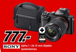 Sony Alpha 7 Kb Kit Systemkamera Mit Objektiv 28 70 Mm Tasche