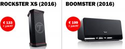 [Lokal] Teufel shop Berlin: ROCKSTER XS (2016) für 133€ [idealo 154€] und BOOMSTER (2017) für 199€
