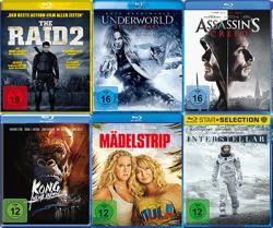 5 Blu-rays für 25 € (über 500 Filme zur Auswahl) @Saturn