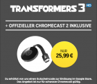 Rakuten TV – Google Chromecast 2 + Transformers 3 in HD für 25,99€ (38,90 € PVG)