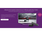 Skyticket: Sky TV Box inkl. 3 Monate Entertainment Ticket für 4,99 Euro statt 47,36 Euro