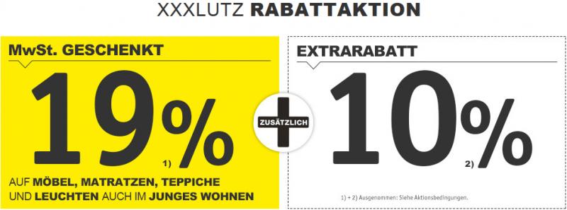 Xxxlutz 19 Mehrwertsteuer Geschenkt Auf Möbel Matratzen Teppiche