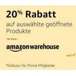 20% Rabatt bei Amazon Warehouse – kein MBW – nur für Prime-Kunden!