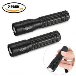 Amazon: 2 Stück Aglaia LED Taschenlampen mit Gutschein für nur 3,59 Euro statt 5,98 Euro