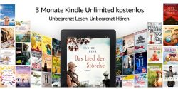 Amazon – 3 Monate Amazon Kindle Unlimited kostenlos testen statt 29,97 €