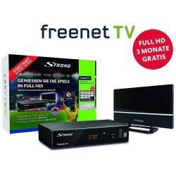 Amazon – Strong SRT 8541 DVB-T2 Receiver mit Antenne + 3 Monate Full HD gratis für 27,71 € statt 38,49 € laut PVG
