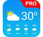 Google Play Store: Wetter App pro kostenlos statt 3,99 Euro