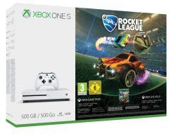Xbox One S 500GB Konsole Rocket League oder Assassinss Creed Origins Bundle @Amazon für 169€ [idealo: 192,99€]