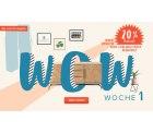Home24: Wow-Wochen mit reduzierten Artikeln + 20% Extrarabatt mit Gutschein ohne MBW