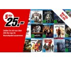 MediaMarkt – 5 Blu-rays für 25€ (über 200 Titel)
