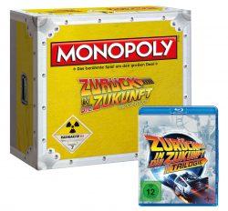 Winningmoves: Monopoly Zurück in die Zukunft Collectors Edition mit allen 3 Filmen auf Blu-ray für nur 35 Euro statt 45,95 Euro bei Idealo