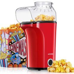 1400W Popcornmaschine Heißluft Ohne Öl für 17,99€ mit Gutschein @Amazon