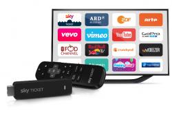 Sky TV Stick + Wunschpaket (z.B. 3 Monate Entertainment) für einmalig 29,99 € statt 54,96 € @Sky