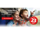 Deutsche Bahn – Länder-Tickets ab 23 € bis zu 5 Personen 1 Tag so oft wie du willst fahren