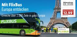 Flixbus Europa-Ticket für nur 12,99 Euro exklusiv bei Lidl kaufen – ab Montag