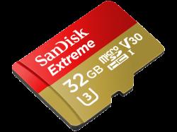 SANDISK Extreme UHS-I Micro-SDXC Speicherkarte 32GB 100 MB/s für 11 € (14,98 € Idealo) @Media-Markt