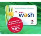 Total Waschkarte – Bis zu 35 % Rabatt auf die Total Waschkarte