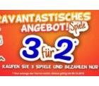 3 Gesellschaftsspiele kaufen und nur 2 bezahlen @Ravensburger