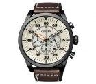 Amazon – Citizen Herren-Armbanduhr XL Chronograph Quarz Leder CA4215-04W für 131,55 € statt 155,90 € laut PVG
