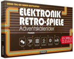 Amazon: Franzis Elektronik Retro Spiele Adventskalender 2018 für nur 16,59 Euro statt 19,59 Euro bei Idealo