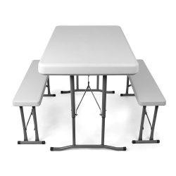 Amazon – Vanage Camping Bierzeltgarnitur Set mit 2 Bänke und Tisch für 38,68€ (56,99€ PVG)