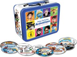 Animations-Filmhits in limitiertem Koffer (10 DVDs) für 17,99 € (34,99 € Idealo) @Saturn