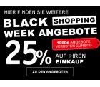 XXXLutz: Vom 16.11. bis 26.11.2018 Black Shopping Week mit bis zu 70% Rabatt + 25% Extrarabatt