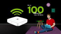 Congstar Homespot XL  bis zu 120€ Rabatt – 100GB Datenvolumen für 35€ statt 40€