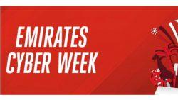 EMIRATES Cyber Week günstige Flüge nach Dubai, Thailand & viele weitere Länder