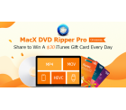 MacX DVD Ripper Black Friday Giveaway & iTunes Karte gewinnen