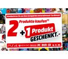 MediaMarkt – 3 Artikel aus dem Bereich Gaming, Film oder Musik kaufen und nur 2 bezahlen